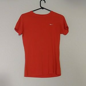 Nike Dri-Fit Red Athletic Top
